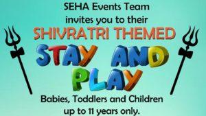 Shivratri Stay & Play @ South East Hindu Association
